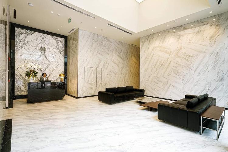 Căn hộ The Metropolo Thủ Thiêm tầng 3, nội thất cơ bản.