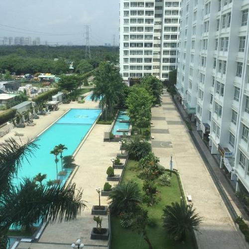 Tiện ích Phú Hoàng Anh Căn hộ Phú Hoàng Anh tầng cao, đầy đủ nội thất, view nội khu.