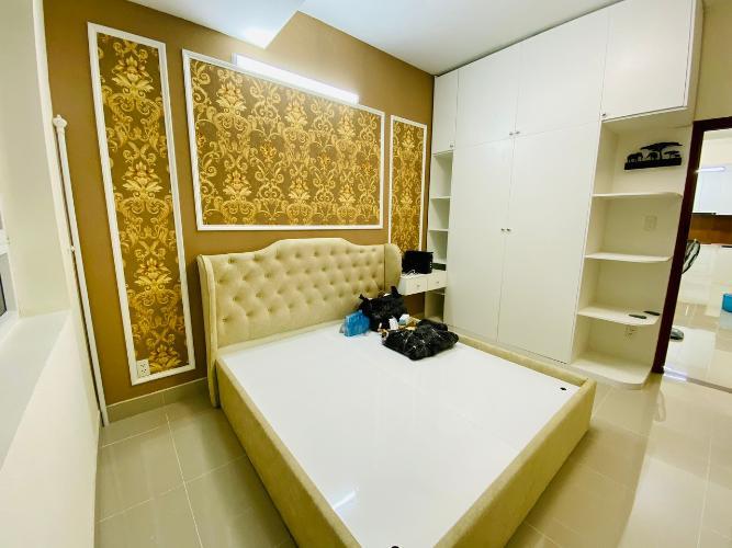 Phòng ngủ Võ Đình Apartment, Quận 12 Căn hộ Võ Đình Apartment ban công hướng Tây, đầy đủ nội thất.