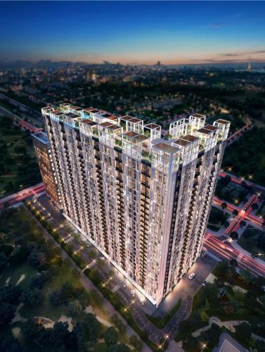 Building City Grand Quận 2 Căn hộ Citi Grand 2 phòng ngủ, nội thất cơ bản.