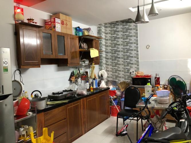 Phòng bếp nhà phố Bình Thạnh Nhà phố hướng cửa Tây Bắc diện tích sử dụng 124.7m2, hẻm xe máy.