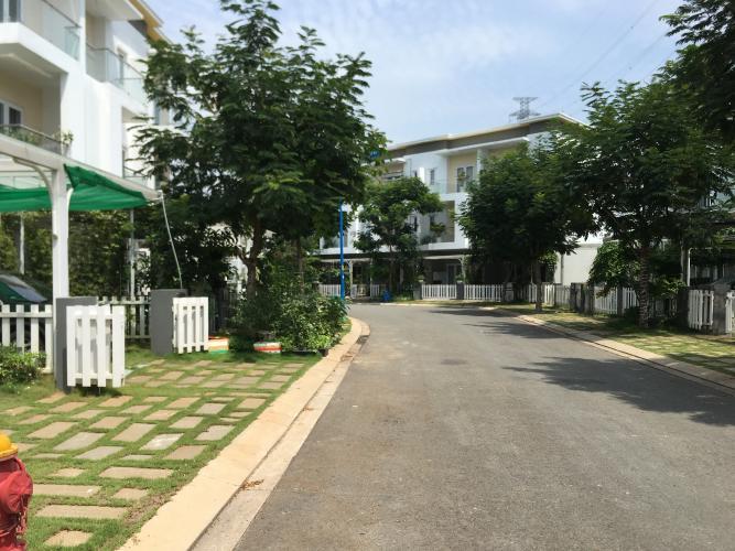 Lộ giới nhà phố Melosa Garden Bán nhà phố 3 tầng Melosa Garden Khang Điền, không gian yên tĩnh, tiện ích đầy đủ.