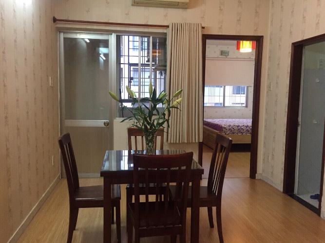 Căn hộ chung cư Vạn Đô tầng 10 view thoáng mát, nội thất cơ bản.