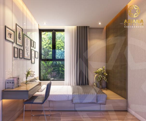 Phòng ngủ căn hộ Asiana Capella , Quận 6 Căn hộ Asiana Capella tầng trung mát mẽ, nội thất cơ bản.
