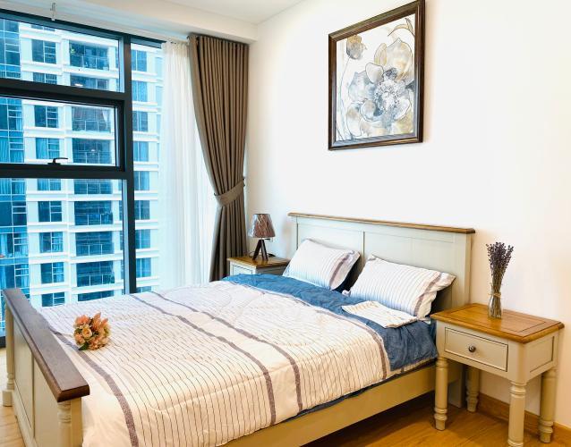 Phòng ngủ căn hộ Sunwah Pearl, Bình Thạnh Căn hộ tầng 16 Sunwah Pearl cửa hướng Tây Bắc, view thoáng mát.