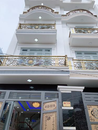 Nhà phố hẻm xe hơi Đường Hồ Học Lãm, kết cấu 1 trệt 3 lầu, sổ hồng riêng.