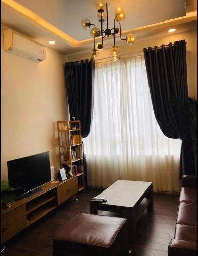 Căn hộ góc The CBD Premium Home tầng 20, nội thất cơ bản.
