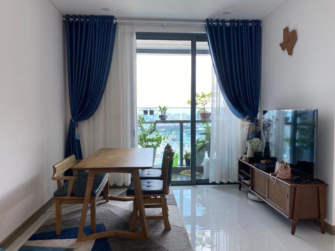 Căn hộ Sunwah Pearl diện tích 53m2, nội thất đầy đủ tiện nghi.