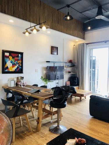 Căn hộ Sunrise Riverside tầng cao diện tích 70m2, đầy đủ nội thất.