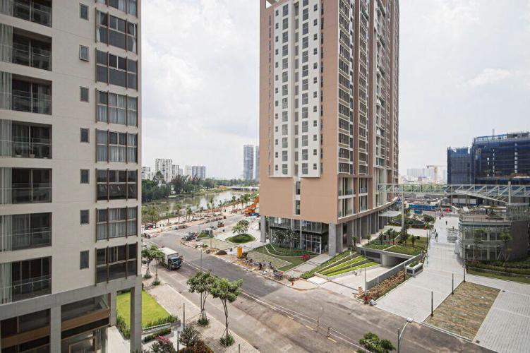View nội khu Phú Mỹ Hưng Midtown Căn hộ Phú Mỹ Hưng Midtown tầng thấp, đầy đủ nội thất, view nội khu.