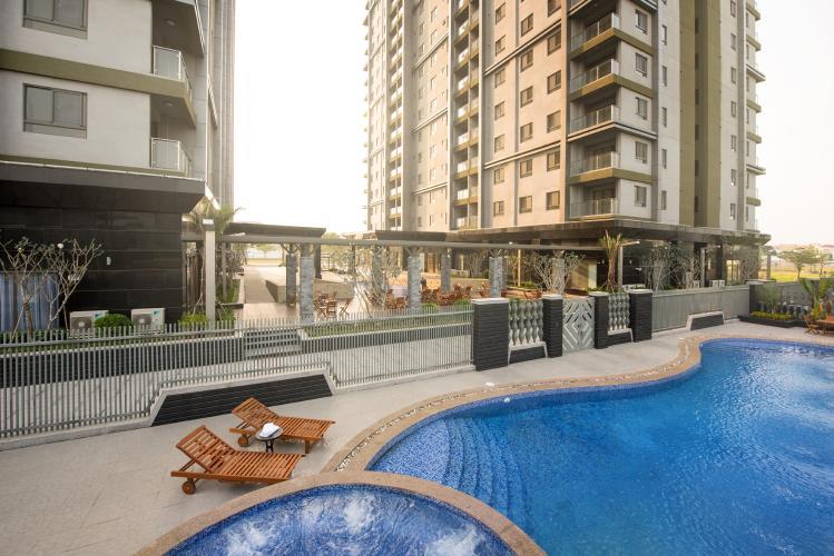 Tiện ích căn hộ Docklands Sài Gòn , Quận 7 Căn hộ Docklands Sài Gòn tầng thấp view hồ bơi, đầy đủ nội thất