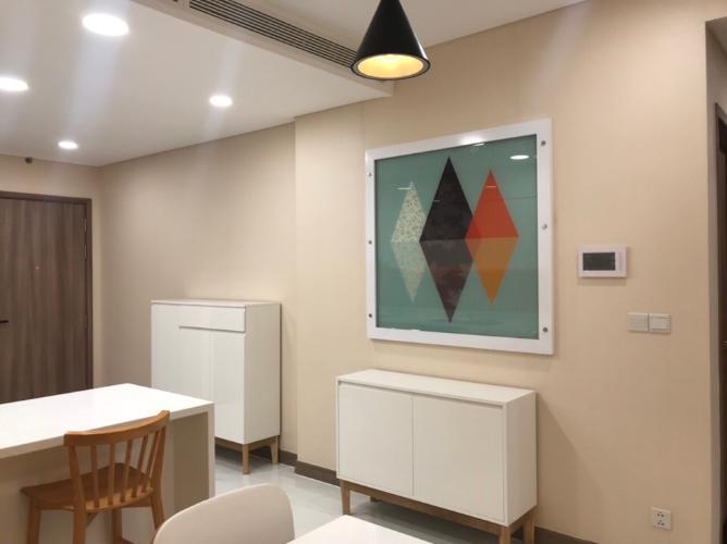Nội thất căn hộ Sunwah Pearl Căn hộ tầng 22 Sunwah Pearl đầy đủ tiện nghi cao cấp, hướng Tây Nam.