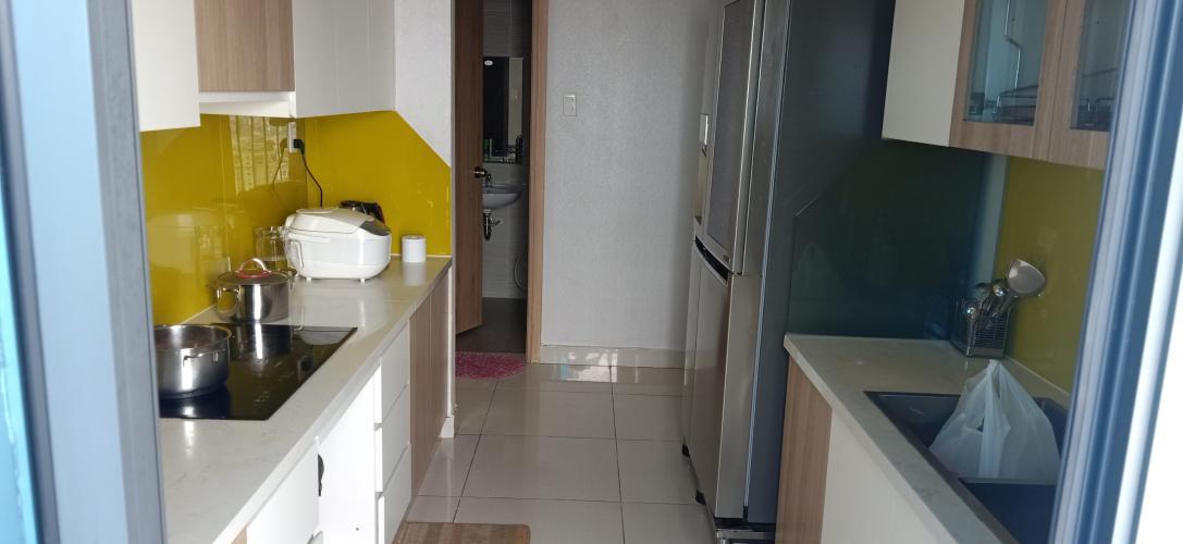Phòng bếp căn hộ La Astoria  quận 2 Căn hộ tầng thấp La Astoria có tầng lửng view sông thoáng mát.