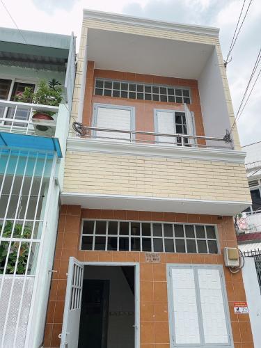 Nhà phố hẻm xe máy đường Trần Văn Đang, kết cấu nhà 1 trệt 1 lầu.