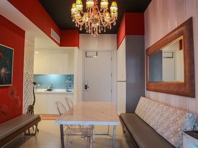Căn hộ Gateway Thảo Điền thiết kế hiện đại, bàn giao nội thất đầy đủ.