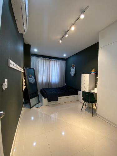 Phòng ngủ căn hộ Topaz Elite, Quận 8 Căn hộ Topaz Elite tầng cao đầy đủ nội thất, hướng Đông Bắc.