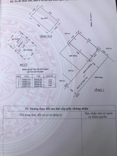 Bản vẽ nhà phố Lê Đức Thọ, Gò Vấp Nhà phố hướng Đông Nam, hẻm xe hơi đậu trước nhà khu an ninh.