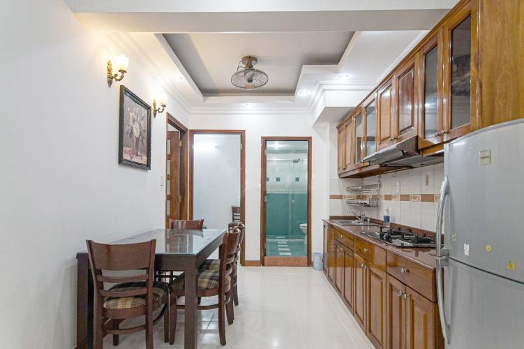 Phòng bếp căn hộ chung cư Hưng Vượng 2 Căn hộ chung cư Hưng Vượng 2 đầy đủ nội thất, cửa chính hướng Nam.
