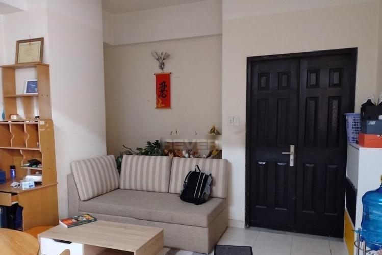 Phòng khách Cao Ốc Bình Minh, Thủ Đức Căn hộ Cao ốc Bình Minh đầy đủ nội thất, hướng Đông Bắc.