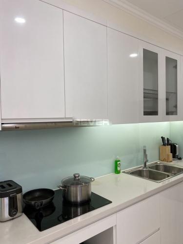 Phòng bếp căn hộ Vinhomes Central Park Căn hộ Vinhomes Central Park tầng cao thoáng mát, view nội khu.