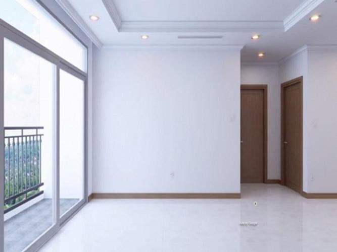 Căn hộ tầng thấp Vinhomes Golden River nội thất cơ bản.