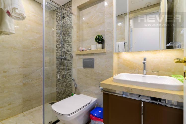 Toilet căn hộ VINHOMES GOLDEN RIVER Bán căn hộ Vinhomes Golden River 1PN, tầng 6, đầy đủ nội thất, ban công Đông Bắc