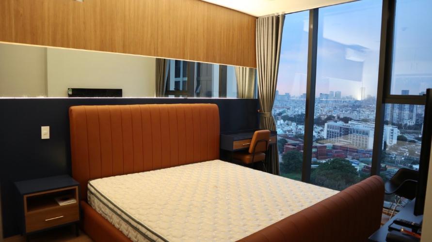 phòng ngủ căn hộ Eco Green Sài Gòn Căn hộ Eco Green Saigon nội thất cơ bản, view thành phố
