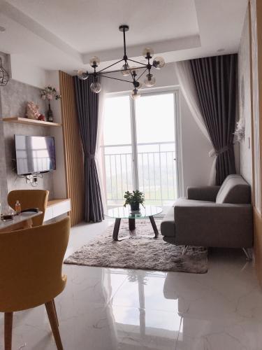 Căn hộ Conic Riverside đầy đủ nội thất, view sông và thành phố.