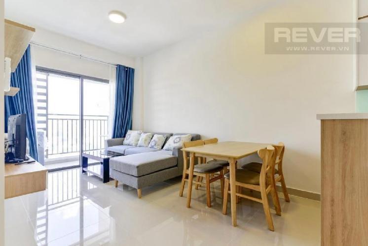 Căn hộ The Sun Avenue tầng cao đón view thoáng mát, nội thất đầy đủ.