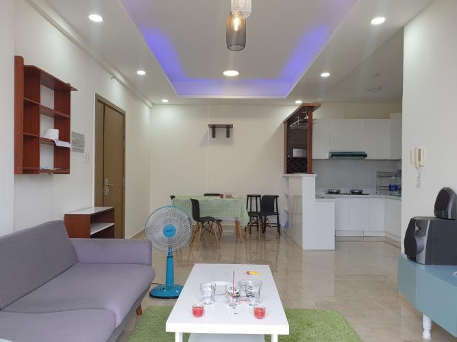 Căn hộ tầng 17 LuxCity hướng Tây Bắc view thoáng mát, đầy đủ nội thất.