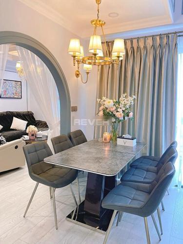 Phòng khách , Căn hộ Lexington Residence , Quận 2 Căn hộ Lexington Residence tầng cao view thoáng mát, đầy đủ nội thất.