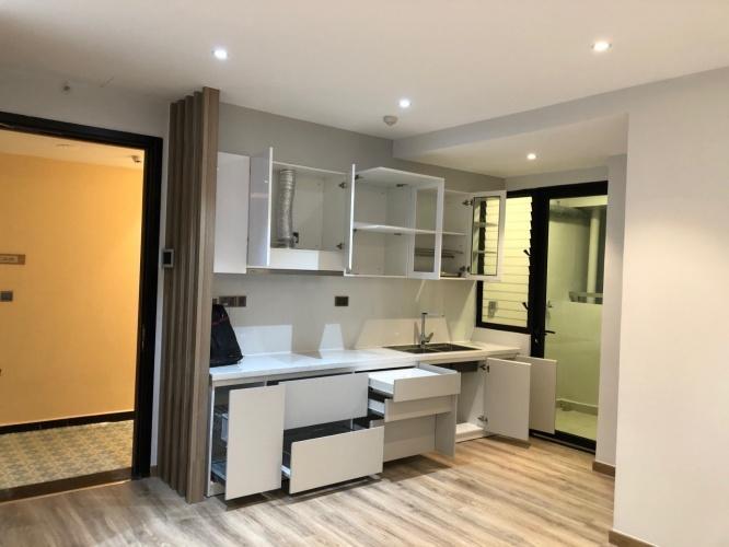 Không gia bếp căn hộ Feliz en Vista Căn hộ Feliz En Vista tầng cao nội thất cơ bản, view thành phố.