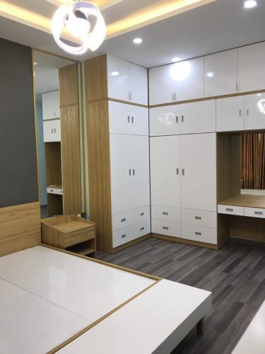 Phòng ngủ nhà phố Gò Vấp Nhà phố cửa hướng Đông hẻm xe hơi rộng, kết cấu 3 tầng.