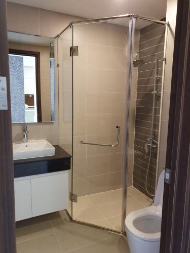 Phòng tắm căn hộ Sunrise Riverside Căn hộ Sunrise Riverside tầng cao, đầy đủ nội thất