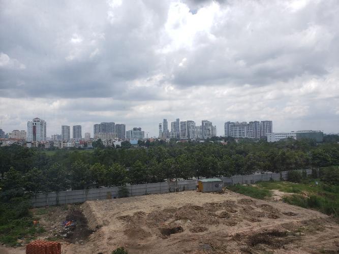 view cảnh căn hộ The Sun Avenue Căn hộ The Sun Avenue ban công hướng Đông Bắc, view thoáng đãng.