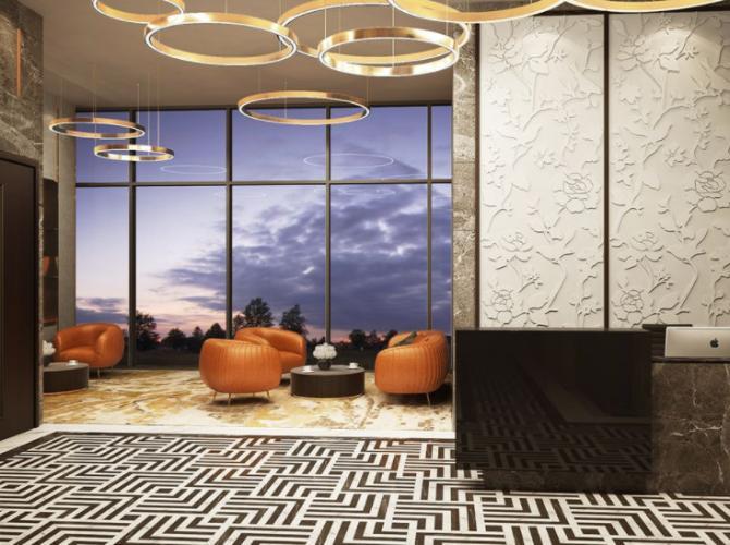 Căn hộ có 2 phòng ngủ Empire City thiết kế hiện đại, tiện ích đầy đủ.