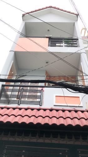 Bán nhà phố 3 tầng, đường Cầm Bá Thước, phường 7, quận Phú Nhuận, diện tích đất 47.7m2, sổ hồng đầy đủ.