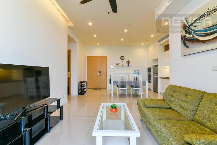 Căn hộ Sarimi Sala Đại Quang Minh tầng trung, nội thất đầy đủ.