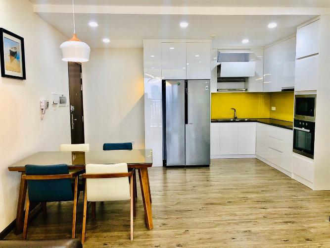 Phòng bếp căn hộ Sunrise Cityview, Quận 7 Căn hộ tầng 14 Sunrise Cityview cửa hướng Tây Bắc, đầy đủ nội thất.