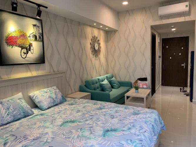 Phòng ngủ The Tresor Quận 4 Căn hộ The Tresor đầy đủ nội thất, hướng Tây Nam.