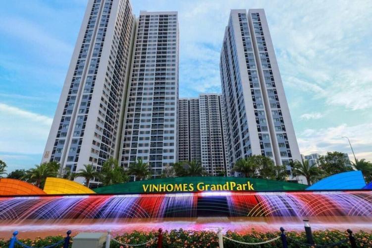 Căn hộ Vinhomes Grand Park quận 9 Căn hộ Vinhomes Grand Park tầng 9 không có nội thất, view sông Tắc
