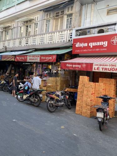 Mặt bằng kinh doanh Phạm Bân quận 5 Mặt bằng kinh doanh Phạm Bân diện tích 52m2, hướng Bắc thoáng mát
