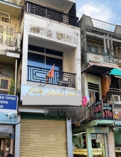 Nhà mặt tiền đường Cô Giang kết cấu 1 trệt 2 lầu kiên cố, không nội thất.