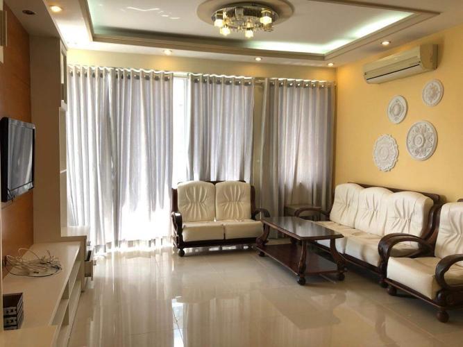 Căn hộ Mỹ Đức Apartment tầng 7 có 3 phòng ngủ, nội thất đầy đủ.
