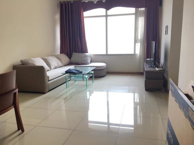 Căn hộ tầng cao Saigon Pearl nội thất tiện nghi.