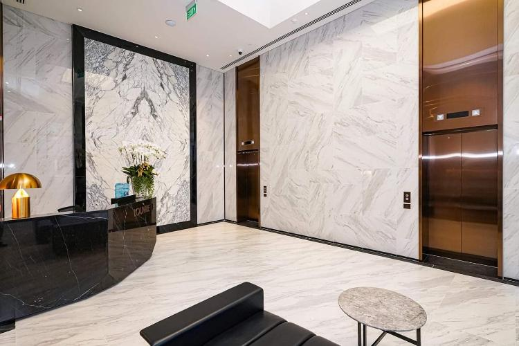 Căn hộ The Metropole Thủ Thiêm tầng 3, nội thất cơ bản.