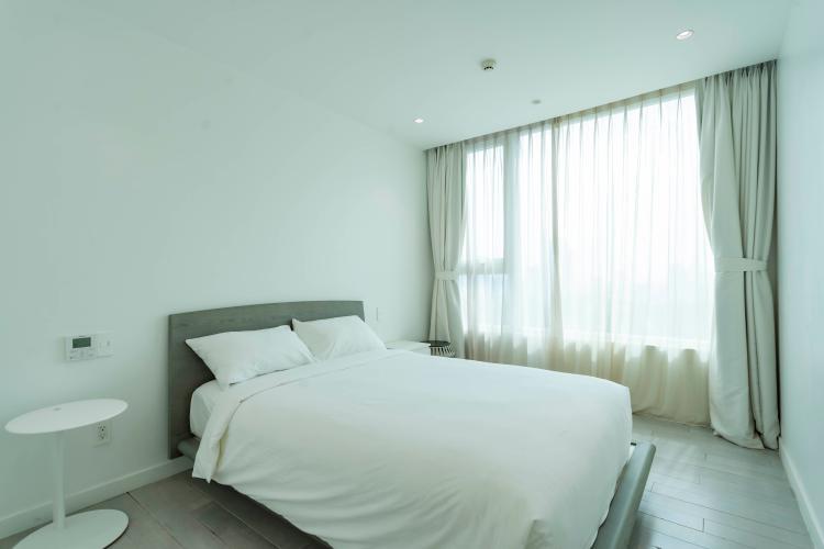 Phòng ngủ , Căn hộ Léman Luxury Apartment , Quận 3 Căn hộ Léman Luxury Apartment tầng 19 view thoáng mát, đầy đủ nội thất.