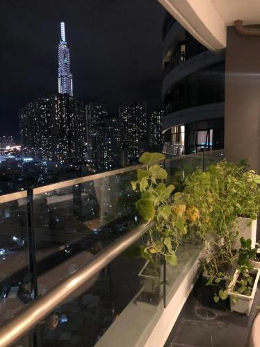 View căn hộ City Garden , Quận Bình Thạnh Căn hộ tầng 14 City Garden view Landmark 81 tuyệt đẹp, đầy đủ nội thất.
