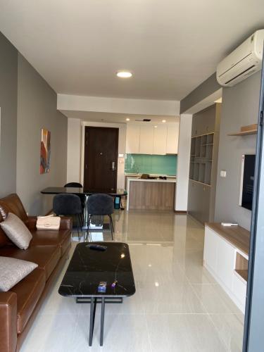 Phòng khách One Verandah Quận 2 Căn hộ One Verahdah view thành phố, nội thất tiện nghi.