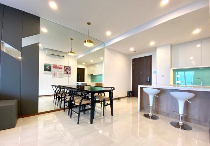 Phòng bếp căn hộ One Verandah, Quận 2 Căn hộ One Verandah tầng cao thoáng mát, đầy đủ nội thất.